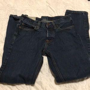 Men's Skinny Button Fly Hollister Jeans Size 28x30